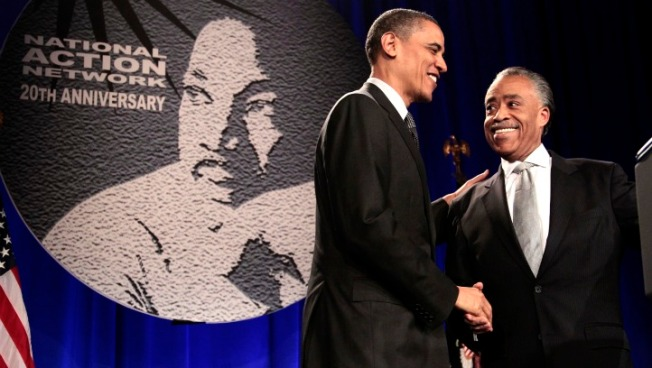 At Sharpton Event, Obama Calls Education Top Civil Rights Issue