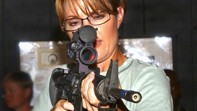Lethal Weapon: Palin to Be Honored With Custom Rifle