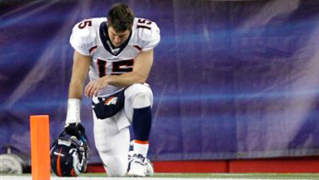 Jets' Tebow Trademarking 'Tebowing'