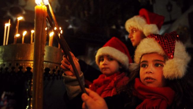 A Merry X-Mas in Bethlehem - But Violence Rocks Gaza