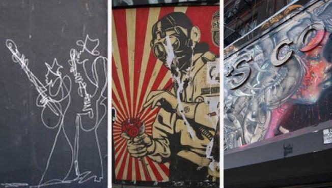 McNally on the Bowery: The Great Graffiti Battle