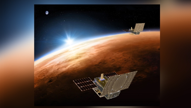Satellites WALL-E and EVE Are Hitching a Ride to Mars