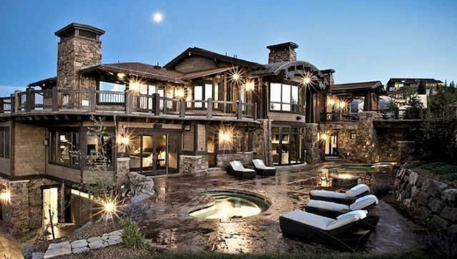 Ski dream house attracts a listers to park city utah for Dream home ny