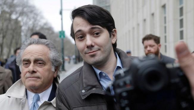 New Lawyer Silences Bad-Boy Ex-Pharma CEO Martin Shkreli