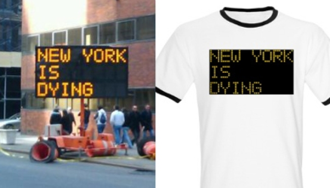 "Get Your ""New York is Dying"" Tee!"