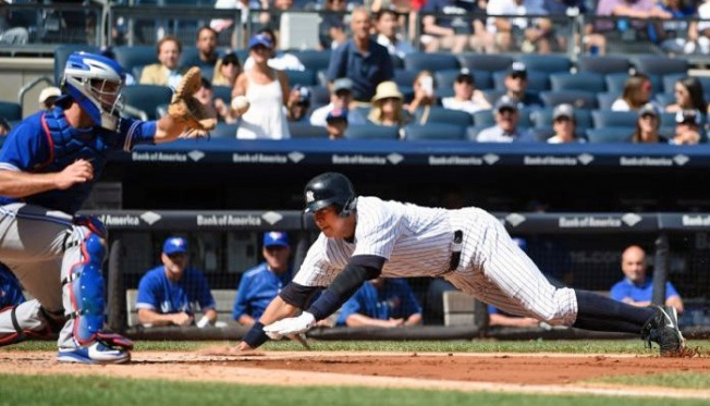 Yanks Avoid Sweep, Cage Blue Jays, 5-0