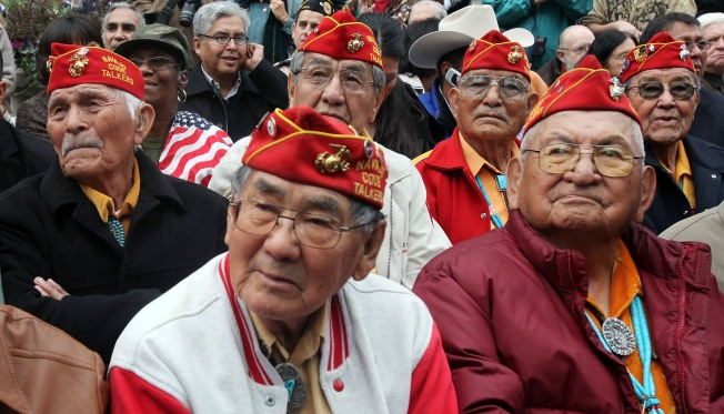Navajo Code Talkers (Finally) Join The Parade