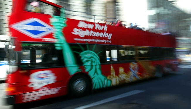 New York Tops for Tourism, in Down Year