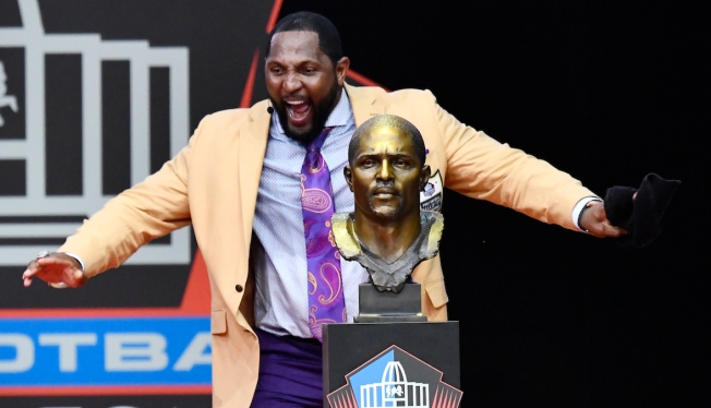 Ray Lewis Urges Togetherness and Love in Hall of Fame Speech