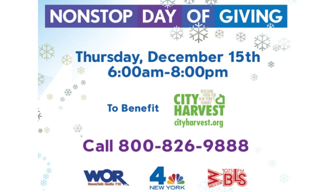 NBC 4 New York Hosts 2nd Annual Nonstop Day of Giving
