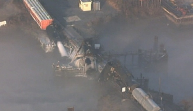 NTSB: Conrail Studied Problems Day Before NJ Crash