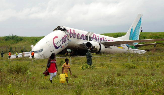 Commercial Plane Crashes in Guyana; No Deaths