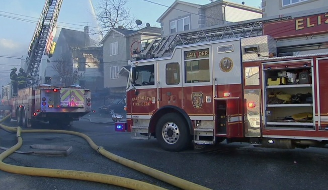 Fire Destroys Family's Home in New Jersey