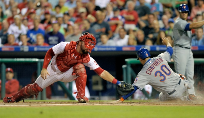 Colon Pitches Mets Past Phillies, 9-4