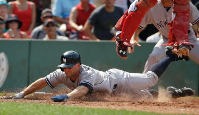 Yankees Subdue Red Sox, 8-6