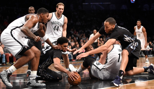 Nets Devoured by Timberwolves 100-85