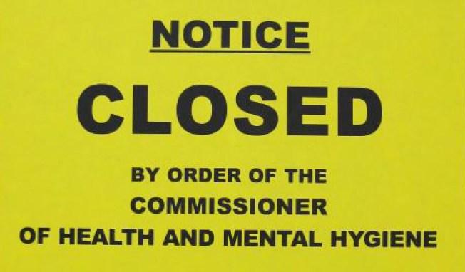Which Restos Got Dept. of Health Violations?