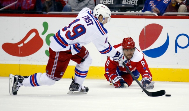 Rangers Suffer 5-2 Loss to Capitals