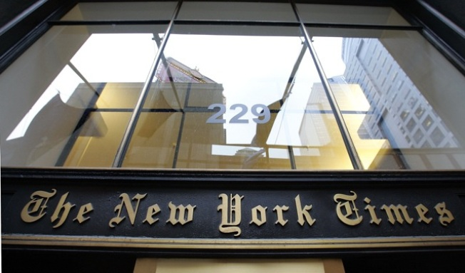 Pay Cuts, Layoffs Hit The New York Times