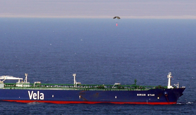 Parachuted Pirate Payment Buys Tanker's Freedom