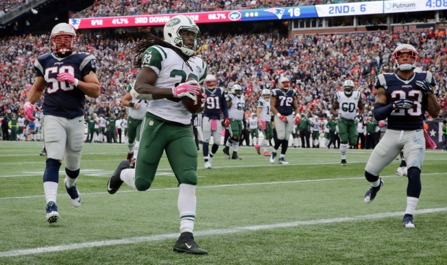 Jets Sputter, Lose 30-23 to Patriots