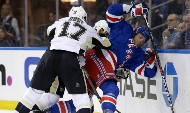 Rangers Fall 3-2 in OT to Surging Penguins