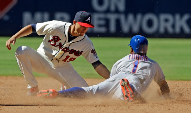 Mets Nip Braves, 10-7, for 7th Straight Win