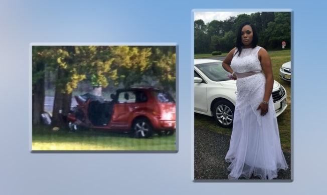 Hours after prom, 2 girls killed when car strikes tree