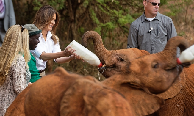 [NATL] Melania Trump's Five-Day Trip to Africa in Photos
