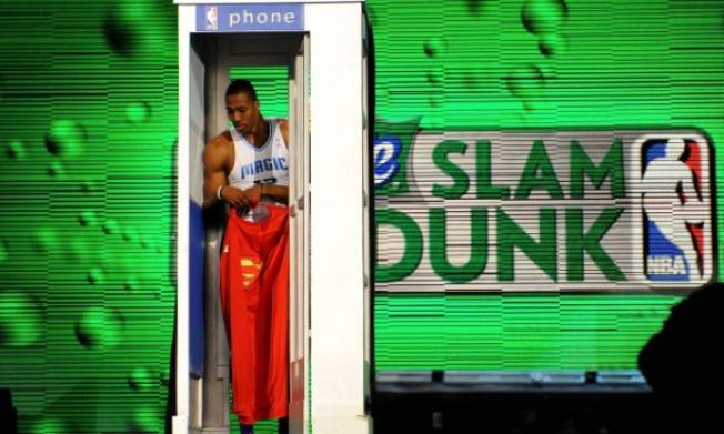 Buy Dwight Howard's Dunk Contest Phone Booth