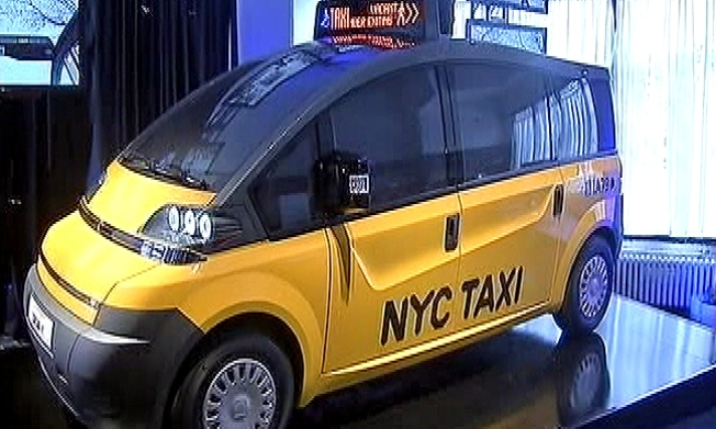 Taxi of the Future Finalist Unveils Model