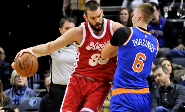 Gasol's 37 Powers Grizzlies Past Knicks 103-95