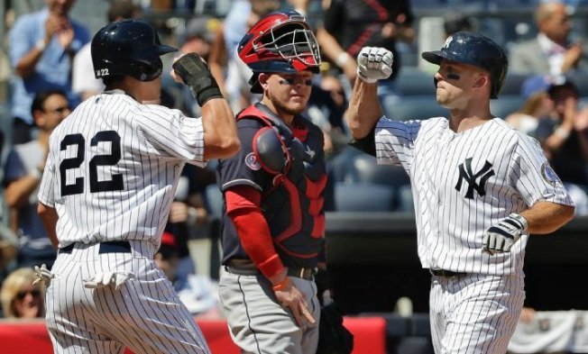 Yanks Dominate Indians, 6-2