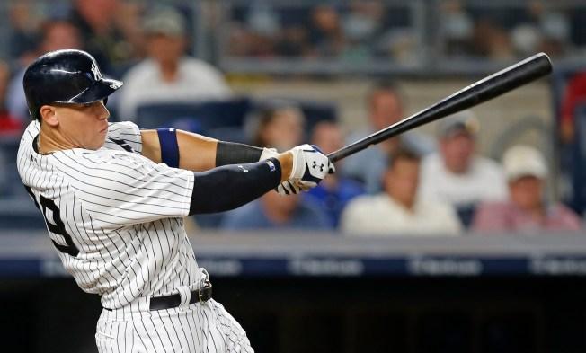 Judge's Big Blast Helps Yankees Cap Grand Homestand