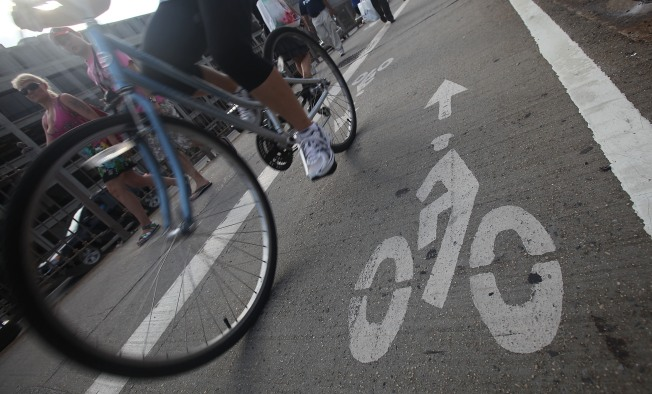 Two Arrested in the Bedford Bike Lane Battles