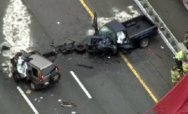 I-95 Crash Causes Extensive Delays - NBC New York