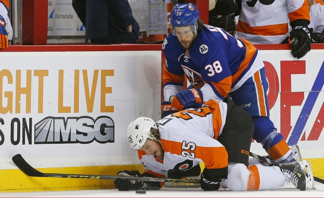 Islanders Fall to Flyers 5-2