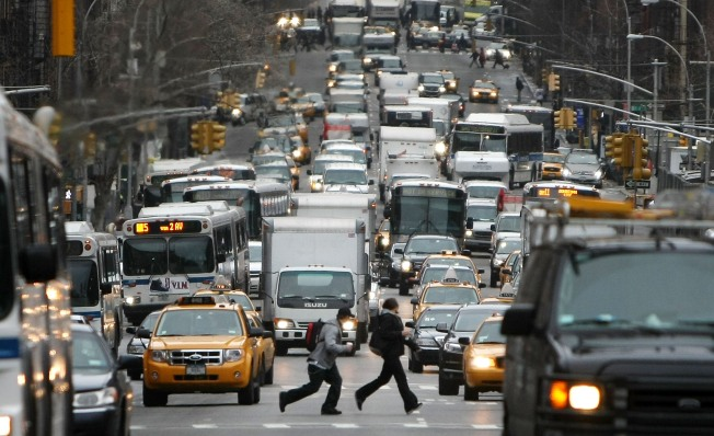 Foes of Congestion Pricing Rally