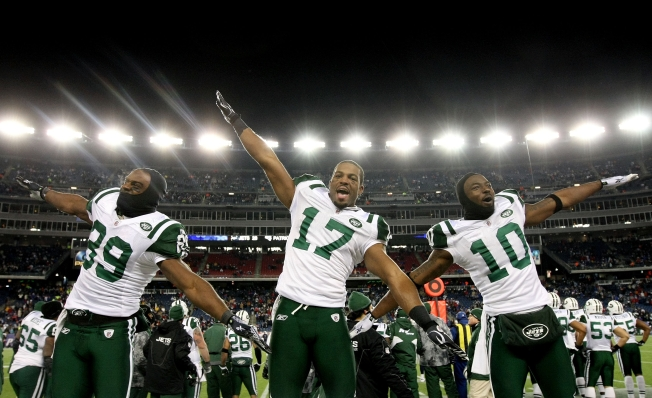 Jets Beat Patriots, 28-21, Advance to AFC Title Game