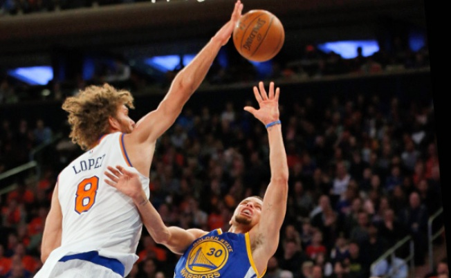 Knicks Outgunned by Warriors 116-95
