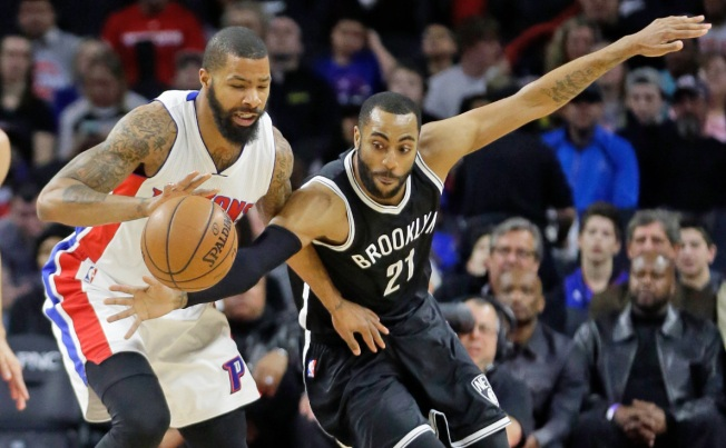 Lopez Out, Nets Lose 115-103 to Pistons