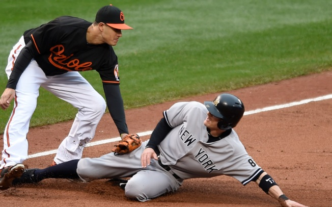 Yanks Drop First Game of Twin Bill to Orioles, 9-2
