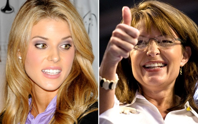 Palin Backs, Relates to, Miss California