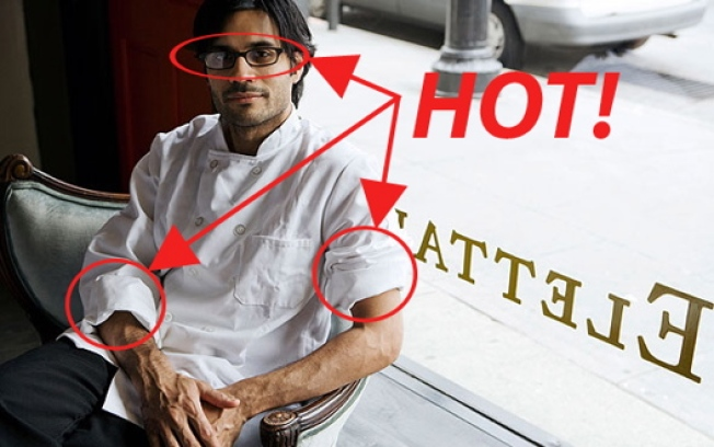 Hottest Chef in NY Round 1: Nawab, Gallante, Fraser, Lee, Barber