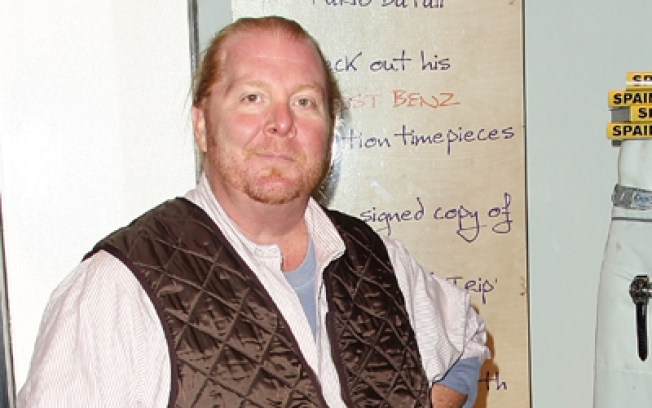 Mario Batali Pours Coffee For You