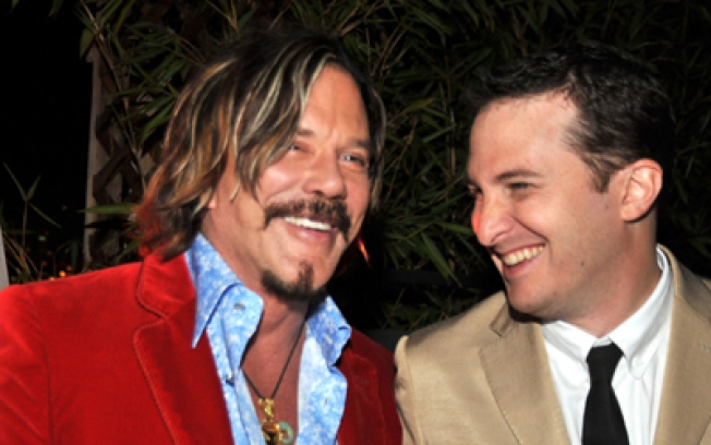 Hot Ticket: Mickey Rourke & Darren Aronofsky Tonight