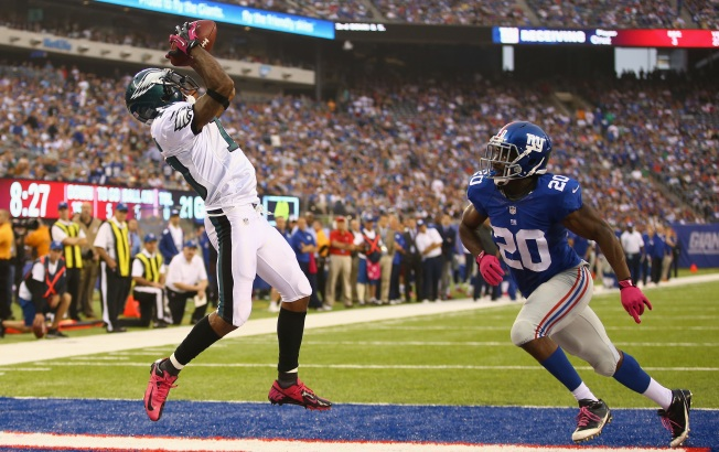 Giants Can't Allow Eagles' DeSean Jackson To Break Game Open