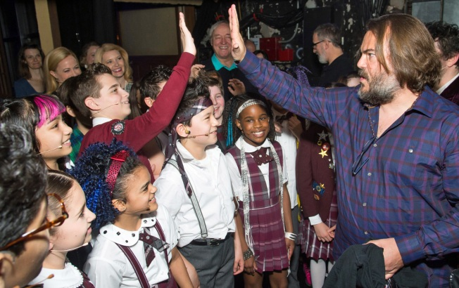 'School of Rock' Cast Meets Rocker from Movie Version