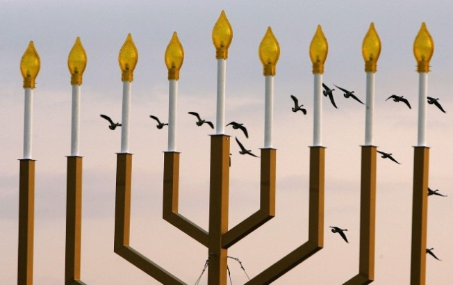 Vandals Defile 11-Foot Menorah on L.I.