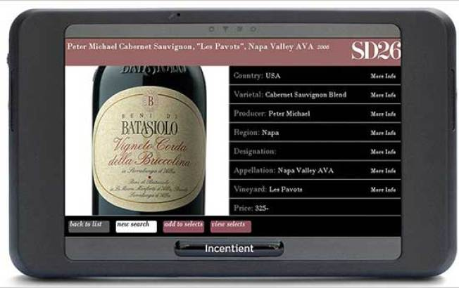 One Restaurant's Smartcellar Is the Future of Wine Lists